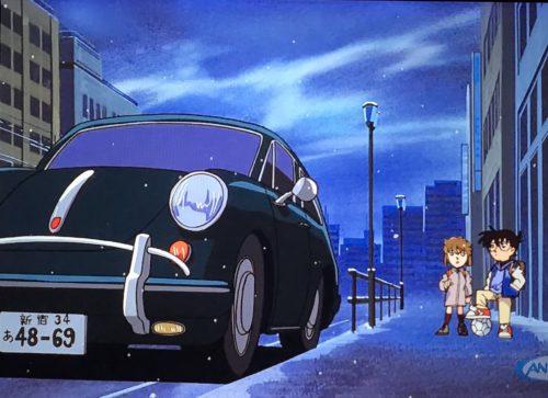 【コナン】黒の組織ジンの愛車や車のナンバーは?