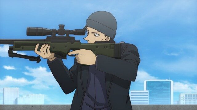 【コナン】映画「緋色の弾丸」のあらすじネタバレと感想!犯人の動機は?