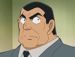 【コナン】大滝警部の声優や登場回!年齢や右眉の傷の原因とは?