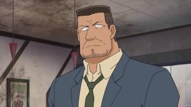 【コナン】弓長警部の声優や登場回は?タバコのエピソードは何話?
